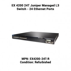 EX 4200 24T Juniper Managed L3 Switch ‑ 24 Ethernet Ports