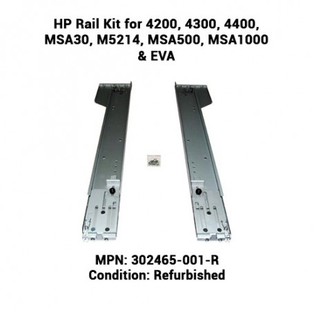 HP Rail Kit for 4200, 4300, 4400, MSA30, M5214, MSA500, MSA1000 & EVA