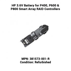 HP 3.6V Battery for P400, P600 & P800 Smart Array RAID Controllers
