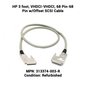 HP 3 foot, VHDCI-VHDCI, 68 Pin-68 Pin w/Offset SCSI Cable