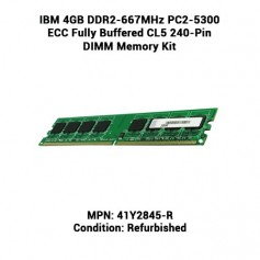 IBM 4GB DDR2-667MHz PC2-5300 ECC Fully Buffered CL5 240-Pin DIMM Memory Kit