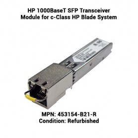 HP 1000BaseT SFP Transceiver Module for c-Class HP Blade System