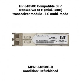 HP J4858C Compatible SFP Transceiver SFP (mini-GBIC) transceiver module - LC multi-mode