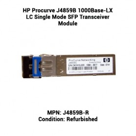 HP Procurve J4859B 1000Base-LX LC Single Mode SFP Transceiver Module