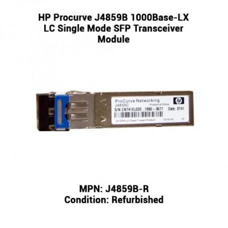 HP Procurve J4859B 1000Base-LX LC Single Mode SFP Transceiver Module
