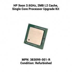 HP Xeon 3.6GHz, 2MB L2 Cache, Single Core Processor Upgrade Kit