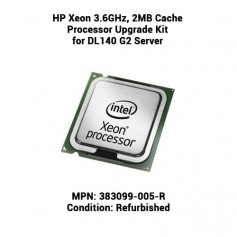 HP Xeon 3.6GHz, 2MB Cache Processor Upgrade Kit for DL140 G2 Server