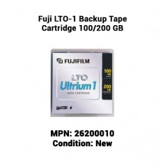 Fuji LTO-1 Backup Tape Cartridge 100/200 GB