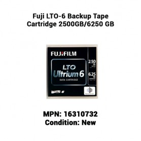 Fuji LTO-6 Backup Tape Cartridge 2500GB/6250 GB