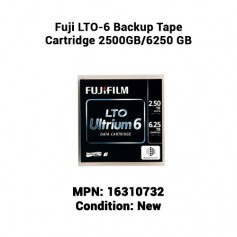 Fuji LTO-6 Backup Tape Cartridge 2500GB/6250 GB