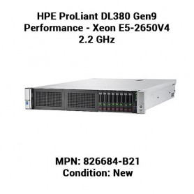 HPE ProLiant DL380 Gen9 Performance - Xeon E5-2650V4 2.2 GHz - 32 GB