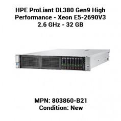 HPE ProLiant DL380 Gen9 High Performance - Xeon E5-2690V3 2.6 GHz - 32 GB