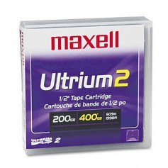 Maxell LTO-2 Backup Tape Cartridge 200/400 GB