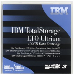 IBM LTO-3 Backup Tape Cartridge 400GB/800GB