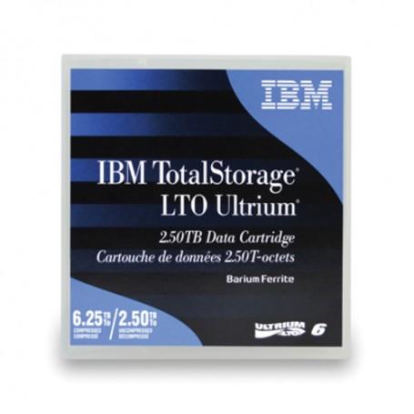 IBM LTO, Ultrium-6, 2.5TB/6.25TB BARIUM FERRITE (BaFe), Labeled