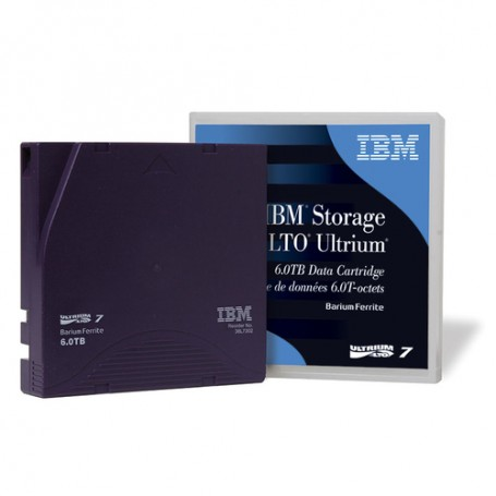 IBM LTO, Ultrium-7, 38L7302, 6TB/15TB LTO-7