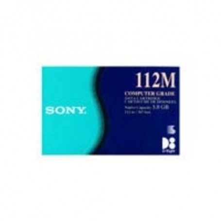 Sony 8mm D8 Tape, 112m, 2.3/5/10GB