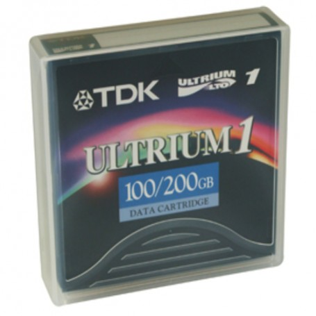 TDK LTO, Ultrium-1, 100GB/200GB no labels in case