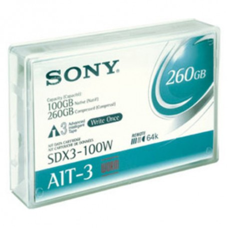Sony AIT-3 Tape, AME, 100GB WRITE ONCE - WORM