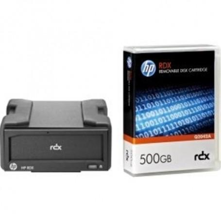 HP External Disk Backup System, B7B69B, 7A, RDX+, 1TB