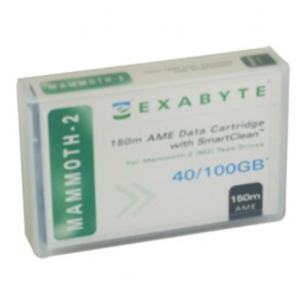 Exabyte Tape, 8mm Mammoth AME, 2, 150m