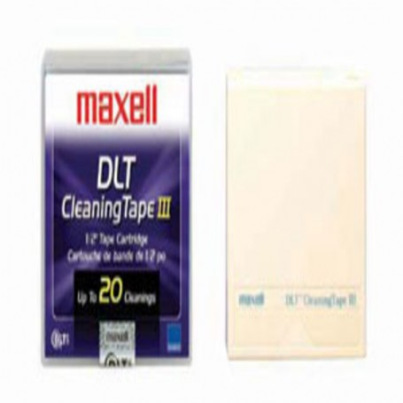 Maxell DLT III/IIIXT/IV Cleaning 20 pass