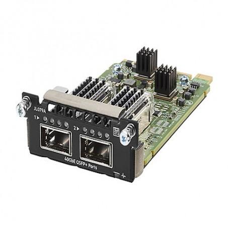 HPE Aruba 3810M 2QSFP+ 40GbE Module -  - expansion module