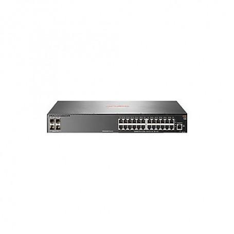 HPE Aruba 2930F 24G 4SFP - switch - 24 ports - managed - rack-mountable
