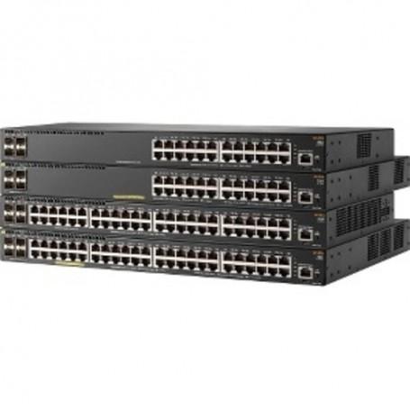 HPE Aruba 2540 24G PoE+ 4SFP+ - switch - 24 ports - managed - rack-mountable