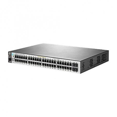 HPE Aruba 2530-48G-PoE+ - switch - 48 ports - managed - rack-mountable