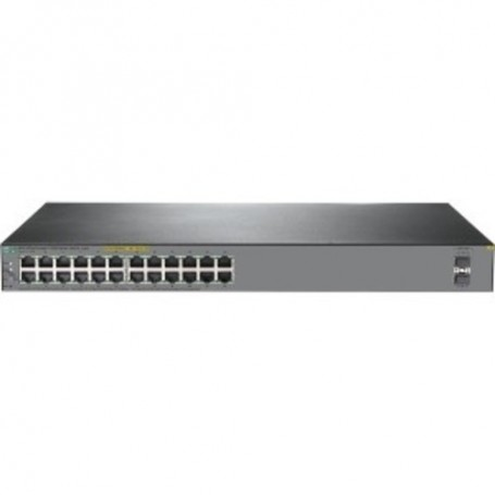 HPE OfficeConnect 1920S 24G 2SFP PoE+ 370W - switch - 24 ports - managed -