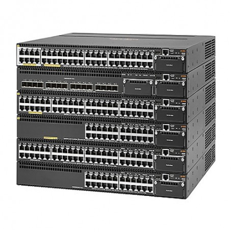HPE Aruba 3810M 16SFP+ 2-slot Switch - switch - 16 ports - managed - rack-mount