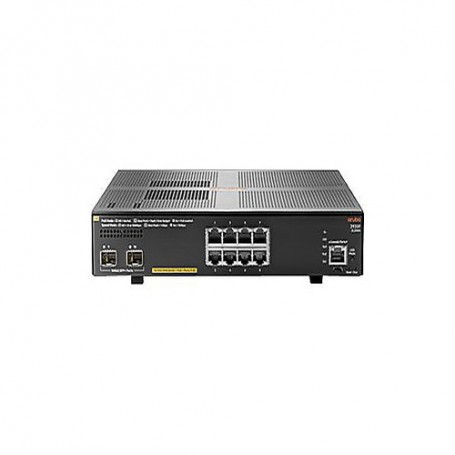 HPE Aruba 2930F 8G PoE+ 2SFP+ - switch - 8 ports - managed - rack-mountable