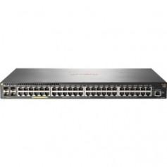 HPE Aruba 2930F 48G PoE+ 4SFP+ - switch - 48 ports - managed - rack-mountable