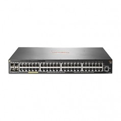 HPE Aruba 2930F 48G PoE+ 4SFP+ TAA - switch - 48 ports - managed - rack-mountable