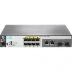 HPE Aruba 2530-8-PoE+ Internal Power Supply - switch - 8 ports - managed - rack