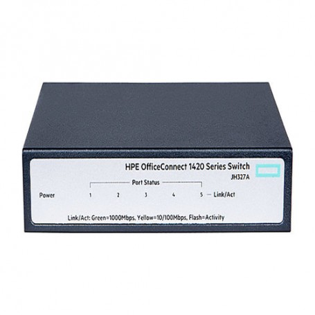 HPE OfficeConnect 1420 5g - switch - 5 ports - unmanaged