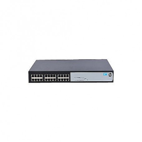 HPE OfficeConnect 1420 24G - switch - 24 ports - unmanaged - rack-mountable