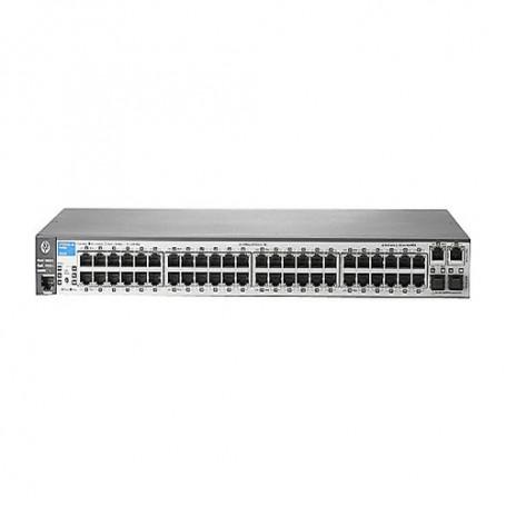 HPE Aruba 2620-48 - switch - 48 ports - managed - rack-mountable