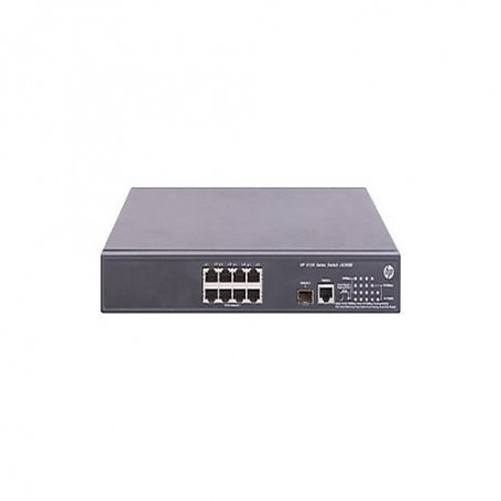 HPE 5120 8G PoE+ (180W) SI - switch - 8 ports - managed - rack-mountable