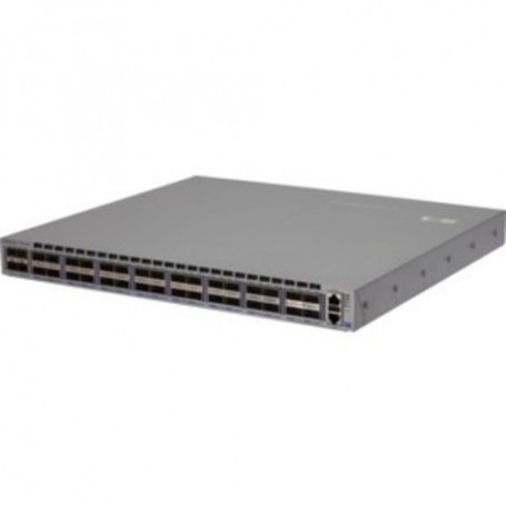 HPE Arista 7160 32QSFP28 Back-to-Front AC Switch - 32 x 100 Gigabit Ethernet Expansion Slot - Manageable