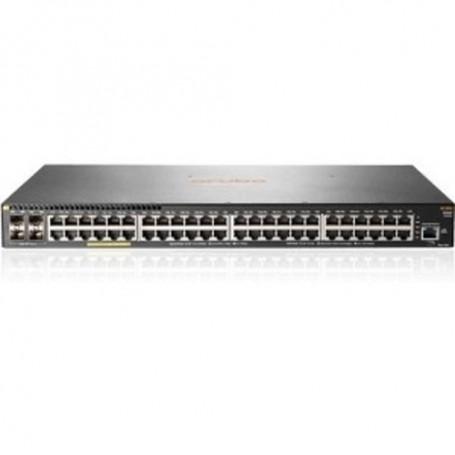 HPE Aruba 2930F 48G PoE+ 4SFP - switch - 48 ports - managed - rack-mountable