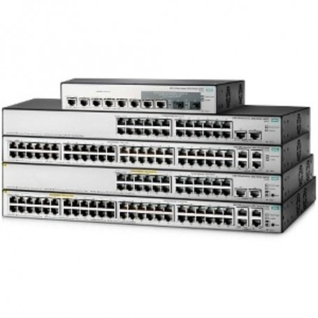 HPE OfficeConnect 1850 48G 4XGT PoE+ 370W - switch - 48 ports - managed