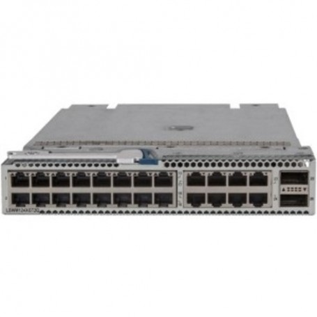 HPE 5930 24-port 10GBase-T and 2-port QSFP+ with MACsec Module