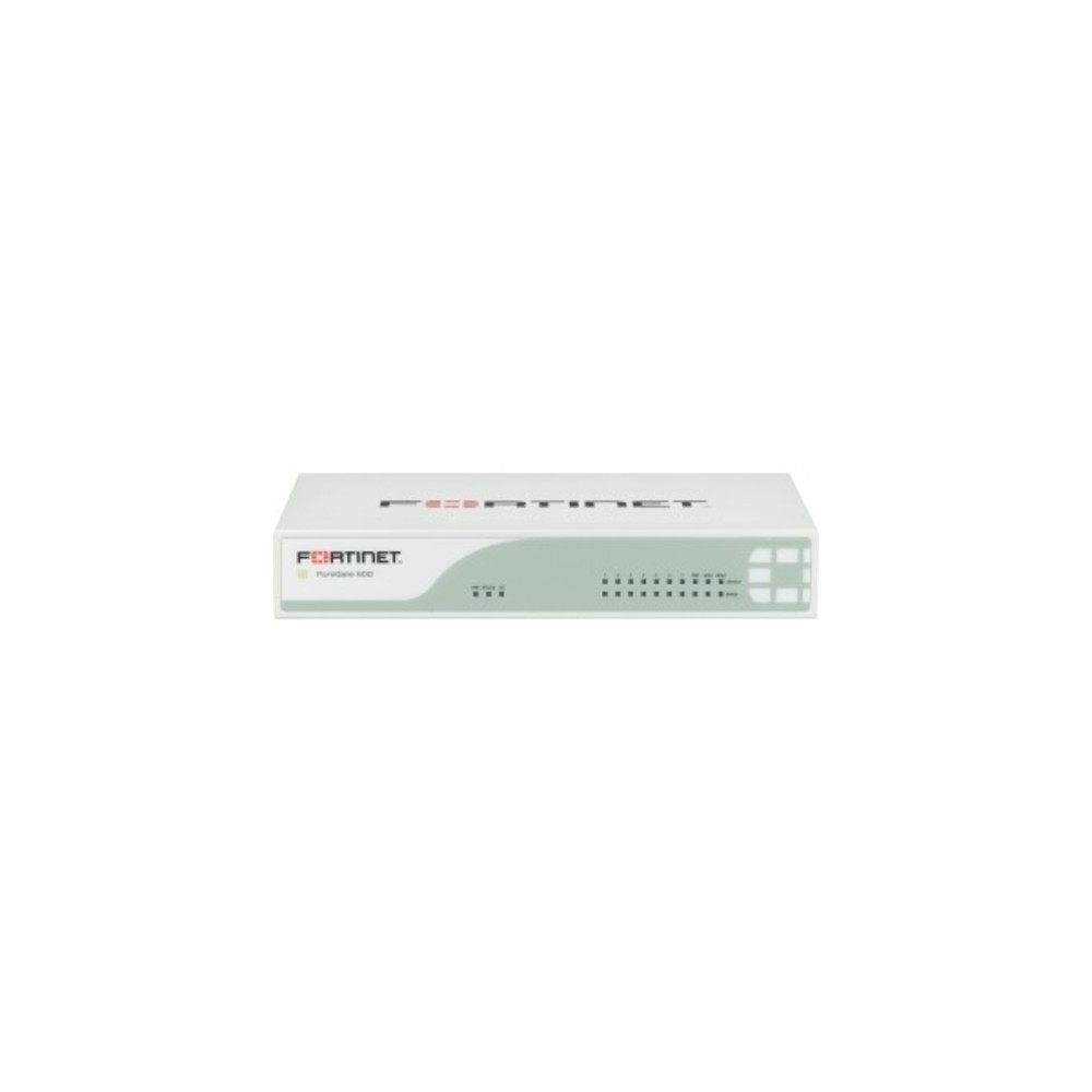 Fortinet FortiGate 60D Network Security/Firewall Appliance - 10 Port -  10/100/1000Base-T Gigabit Ethernet - USB