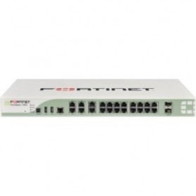 Fortinet FortiGate 100D Network Security/Firewall Appliance - 22 Port - 10/100/1000Base-T Gigabit Ethernet - USB - 22 x RJ-45