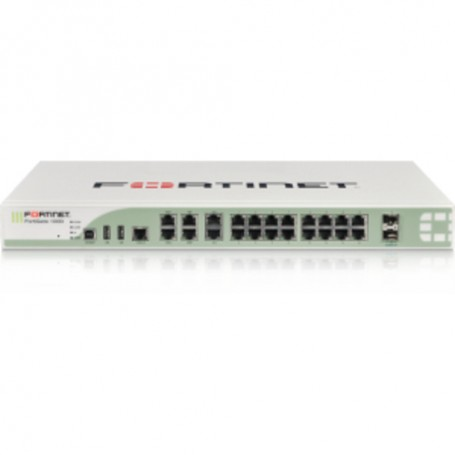 Fortinet FortiGate 100D Network Security/Firewall Appliance - Security  Monitoring - 20 Port Gigabit Ethernet - USB - 20 x RJ-45
