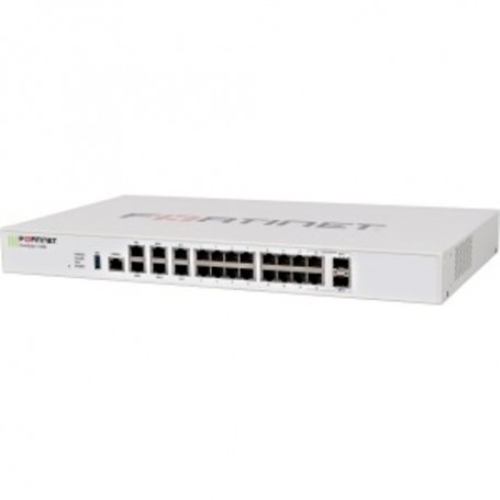Fortinet FortiGate 100E Network Security/Firewall Appliance - 18 Port - 1000Base-X, 1000Base-T Gigabit Ethernet