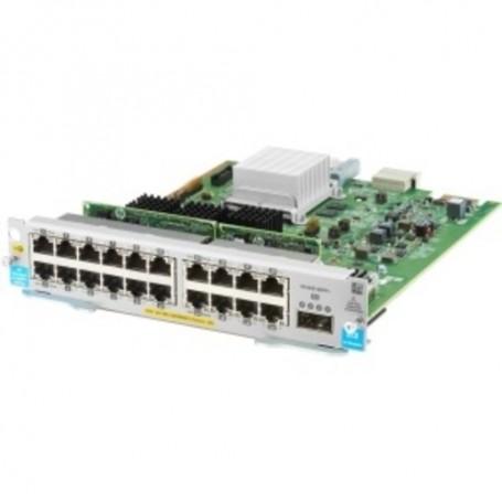 HPE 20-port 10/100/1000BASE-T PoE+ MACsec / 1-port 40GbE QSFP+ v3 zl2 Module - For Data Networking
