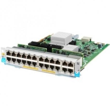 HPE Expansion Module - For Data Networking 20 RJ-45 1000Base-T LAN, 4 RJ-45 10GBase-T LAN - Twisted PairGigabit Ethernet